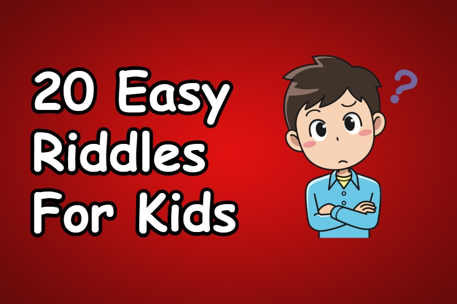 20 easy riddles for kids