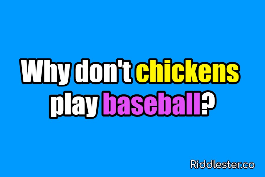 riddle baseball