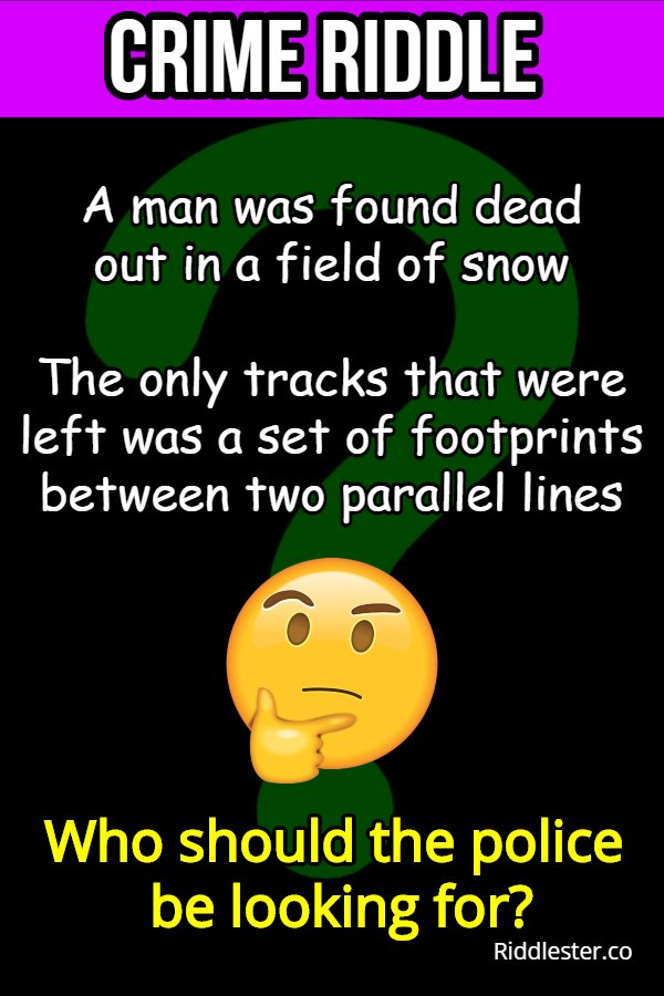 mystery riddle