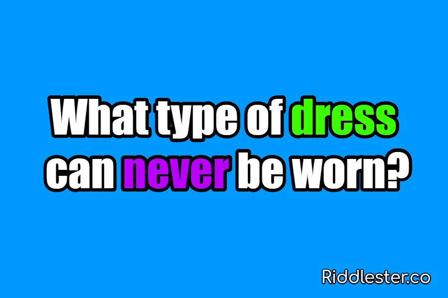 riddle dress
