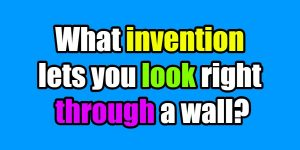 riddles invention