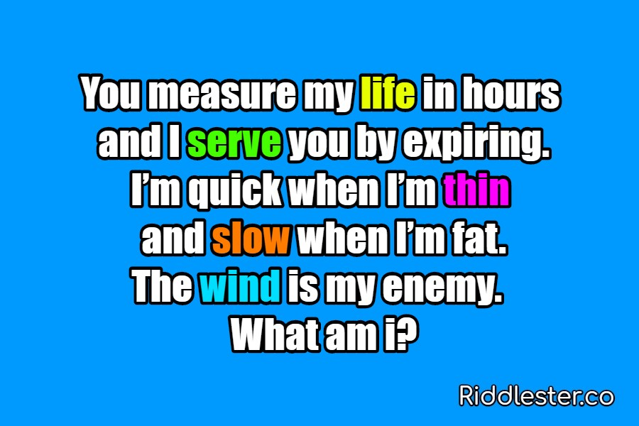 riddles i serve you