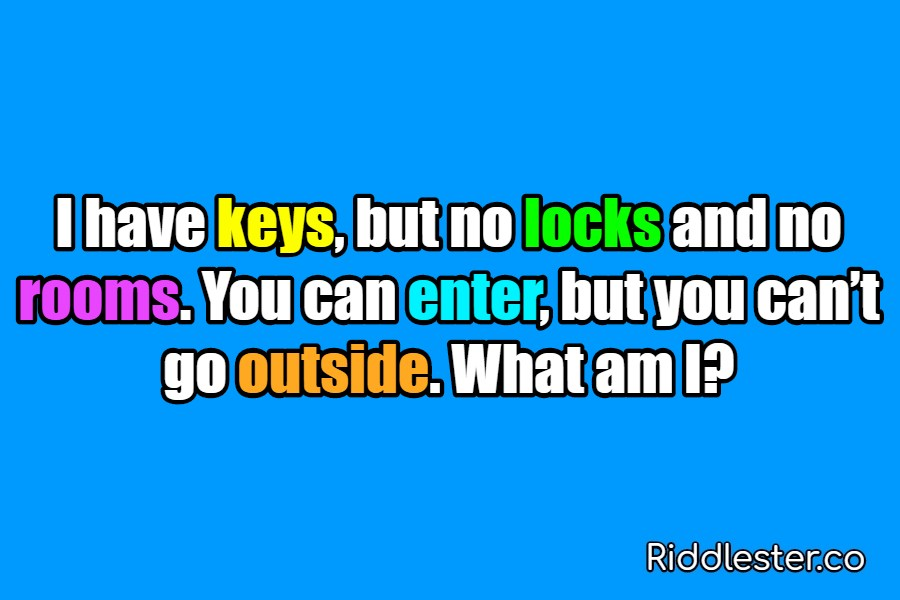 riddle no locks