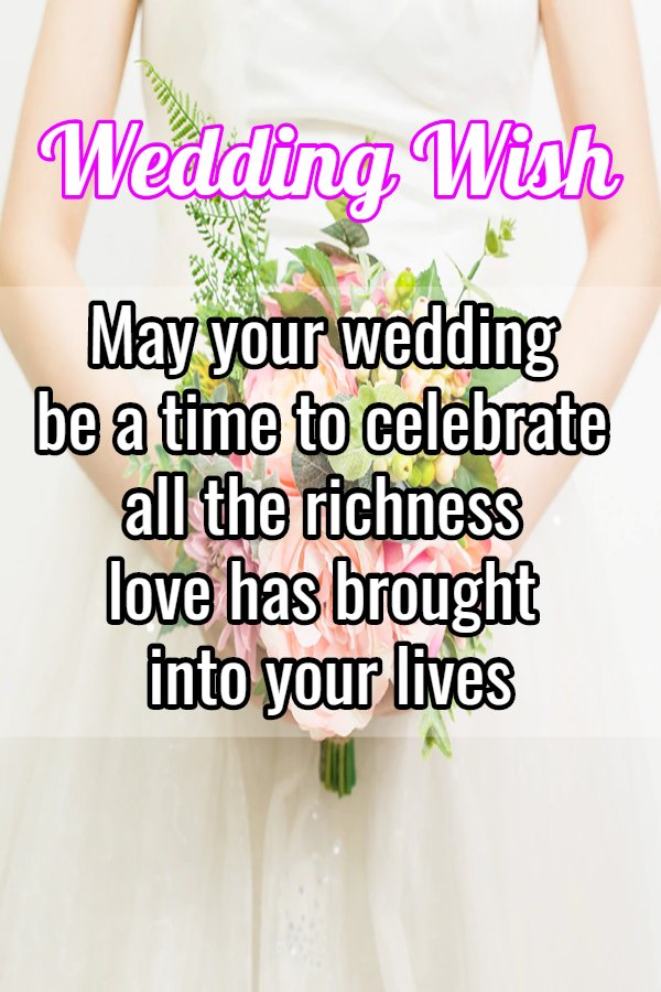 wedding messages