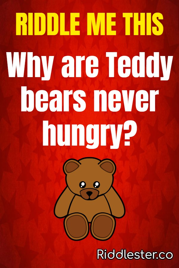 why are teddy bears