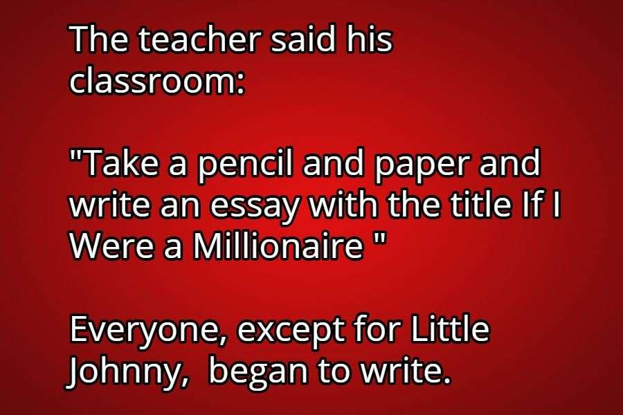 clean little johnny jokes