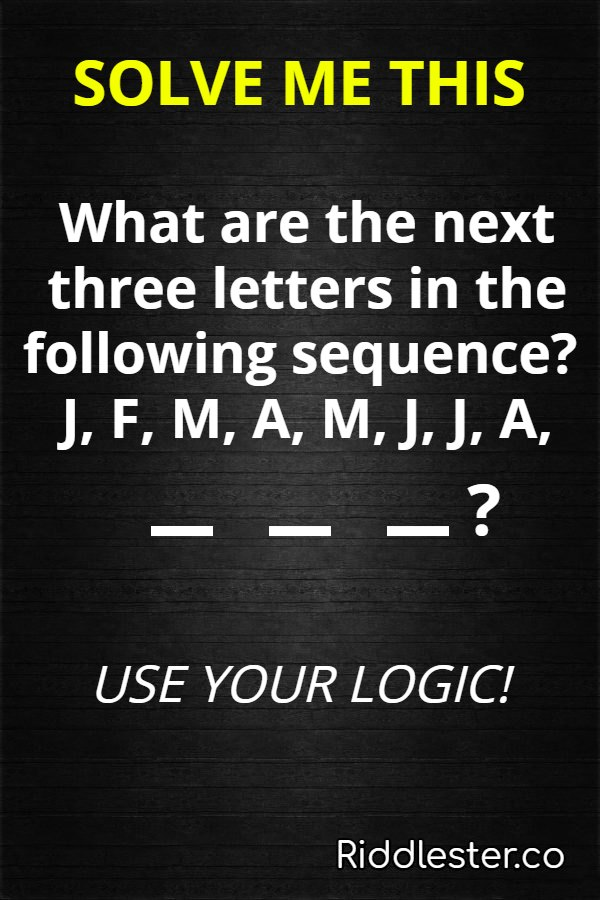 clever logic riddle