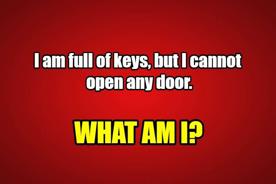 keys riddle