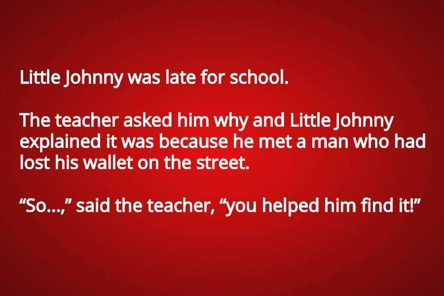 little johnny jokes clean