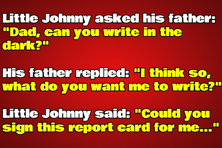 little johnny jokes clean