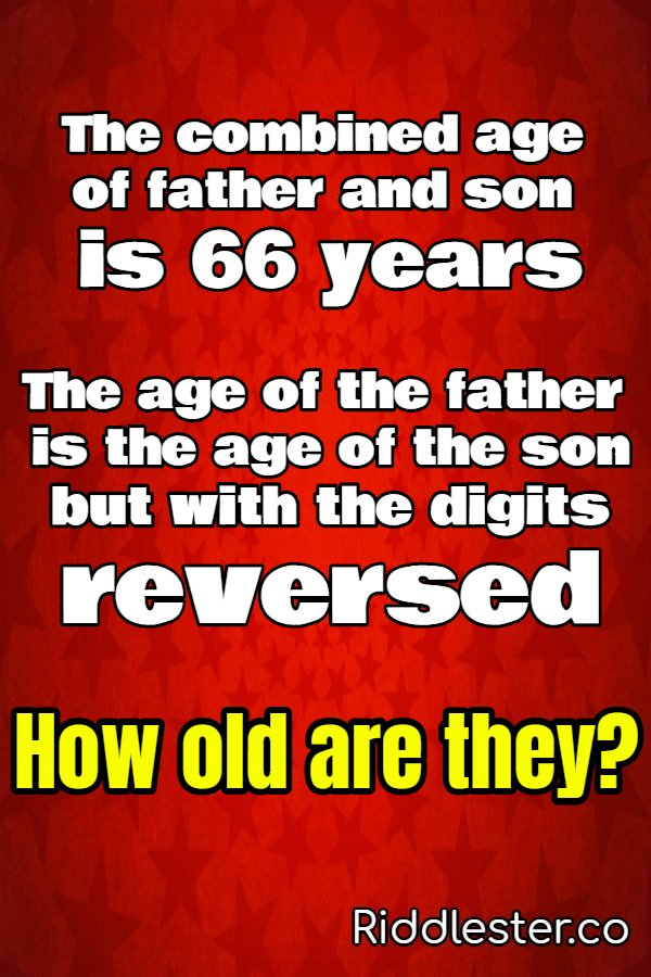 father and son riddle