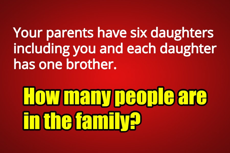 riddle the family