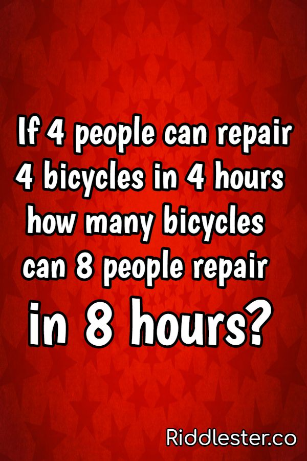 bicycle riddle