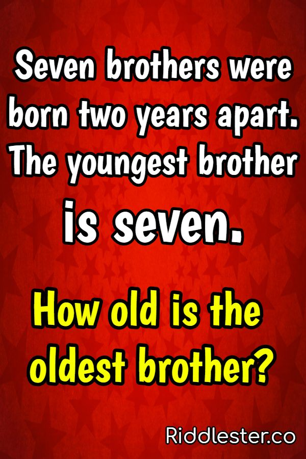 brothers riddle
