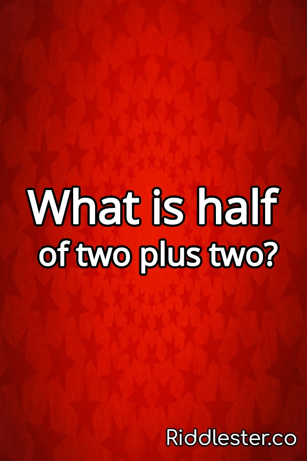 two math riddle