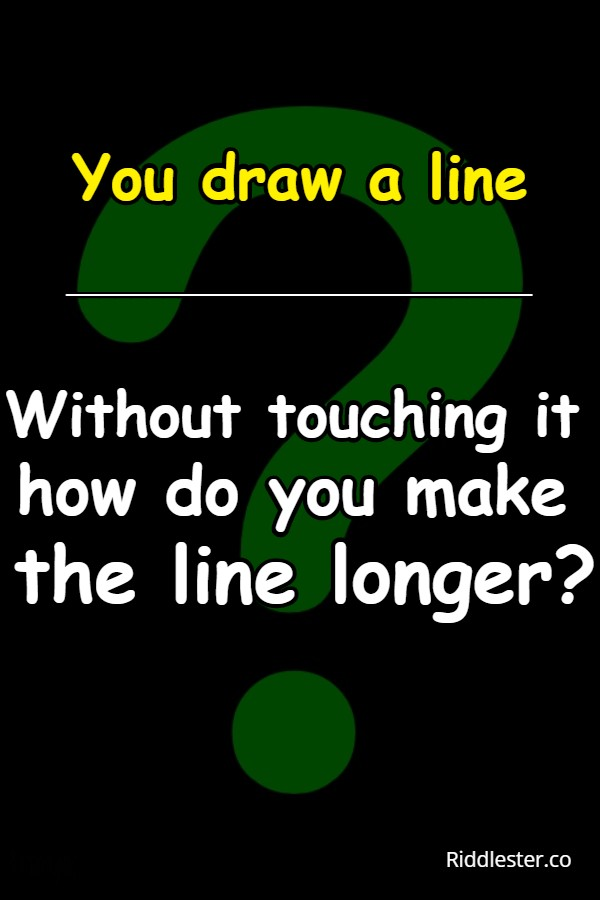 line riddle