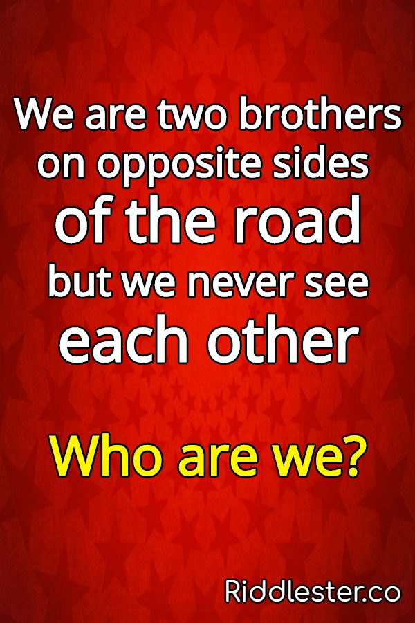 two brothers riddle