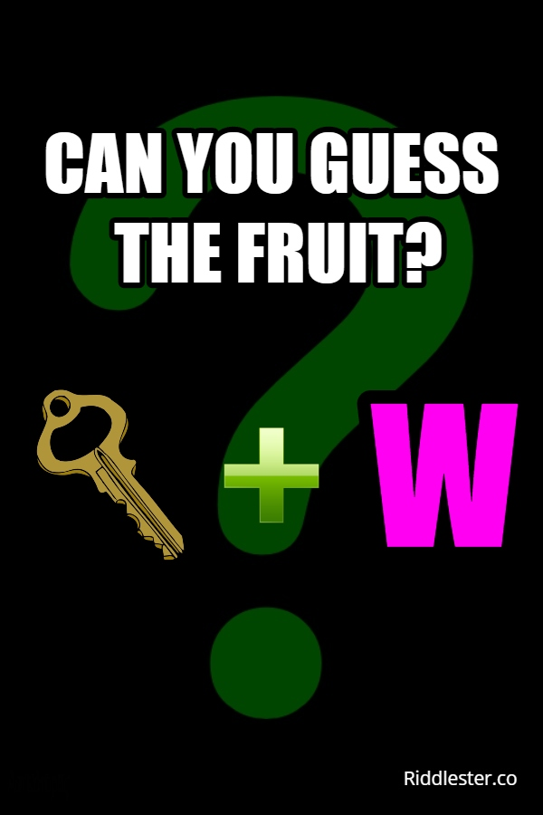 can you guess the fruit