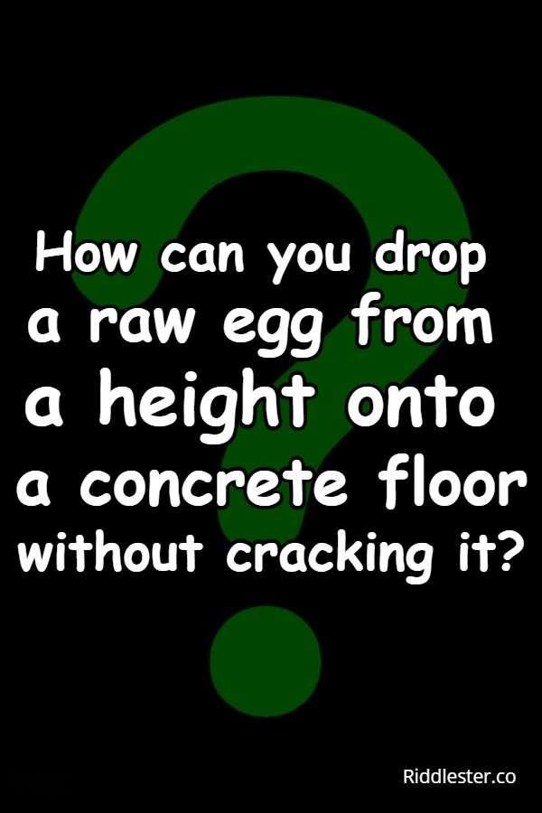egg riddle