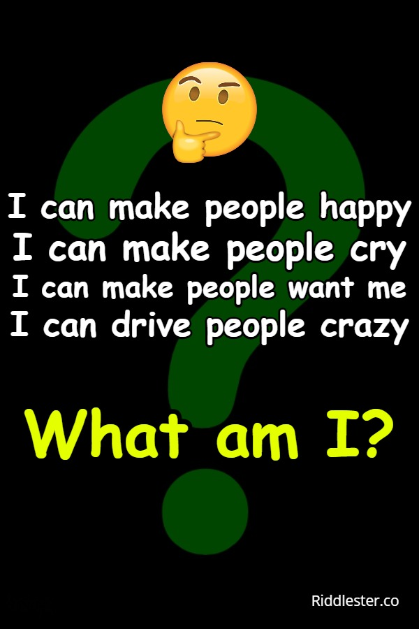 happy people riddle