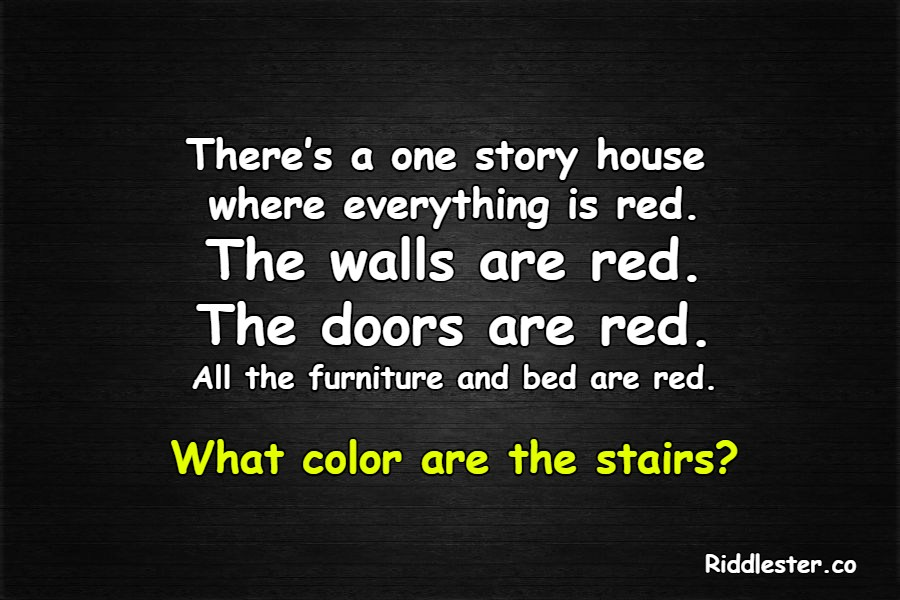house riddle