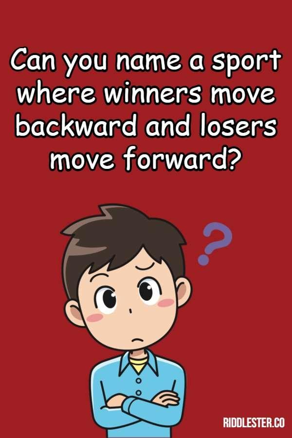 sport riddle