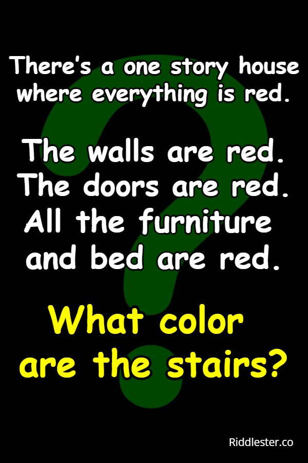 the house riddle