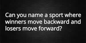 the sport riddle