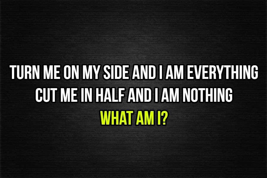 i am everything riddle