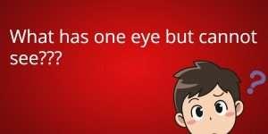 one eye riddle