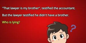That lawyer is my brother testified the accountant