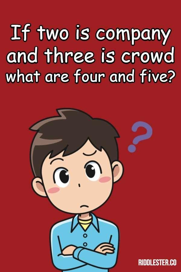three riddle