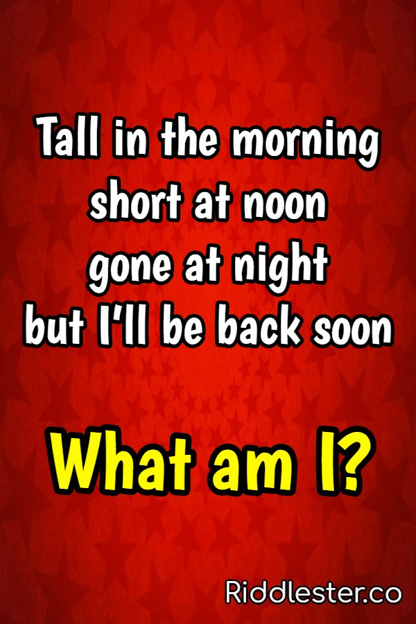 am i riddle