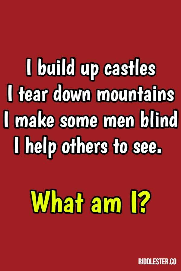castle riddle