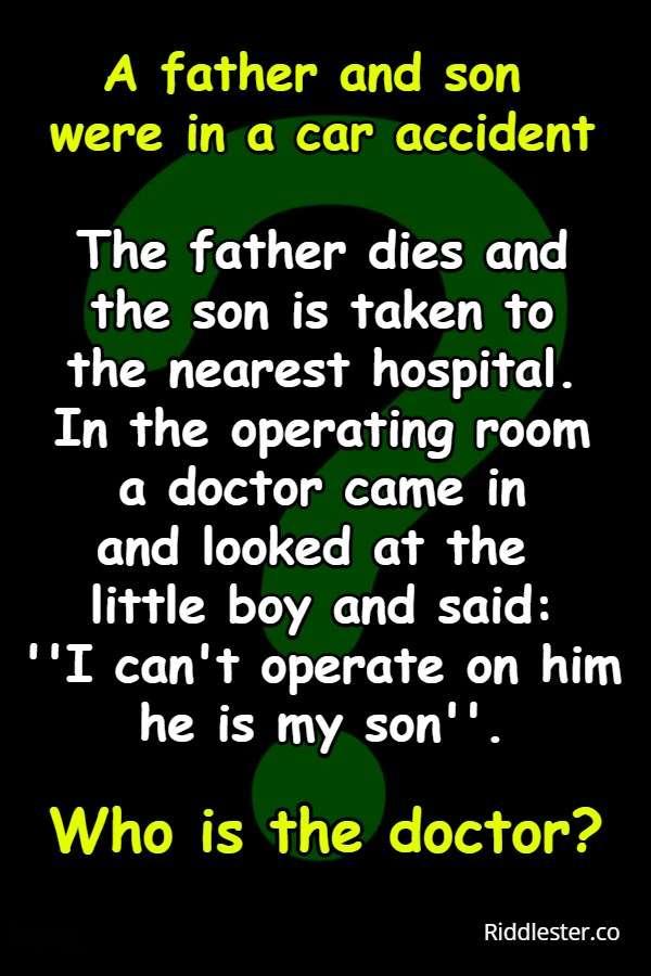 doctor riddles