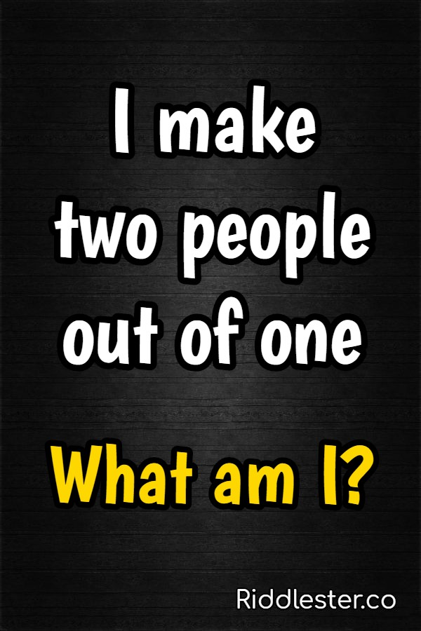 people riddle