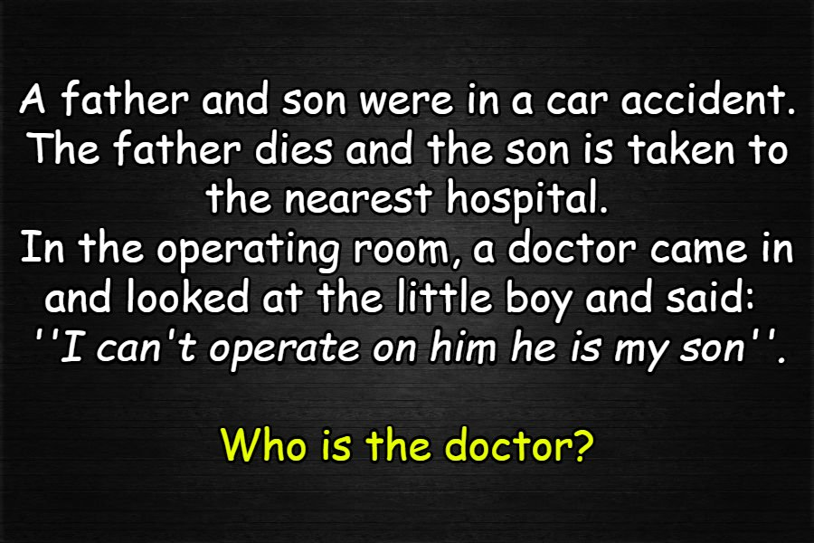 the doctor and the son riddle