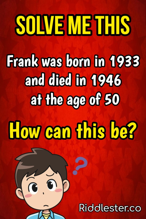 frank was born in 1933
