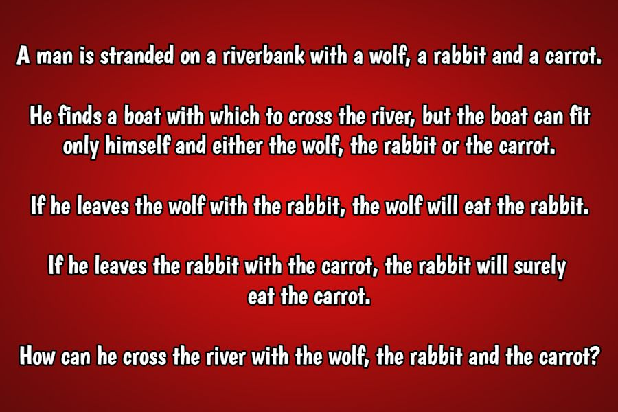 rabbit riddle