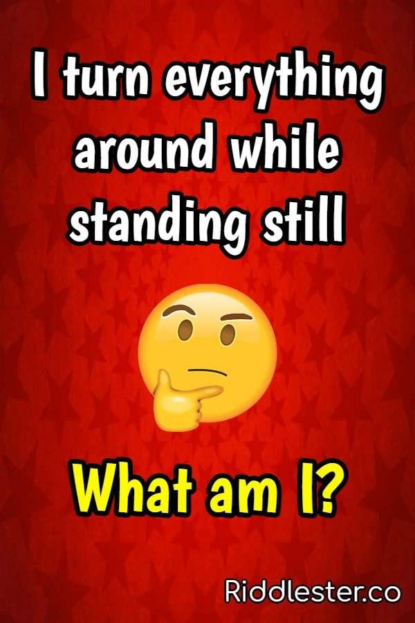 around what am i