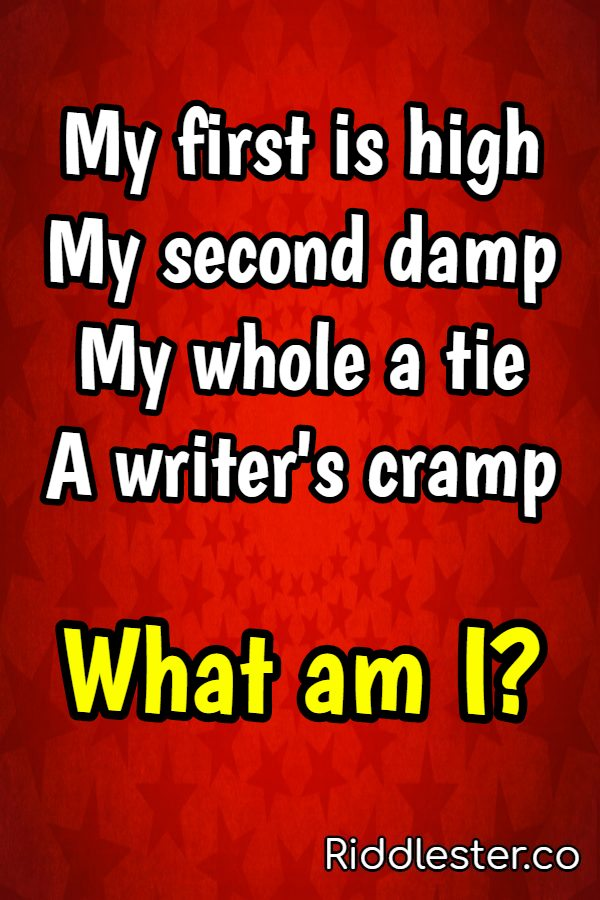 rhyming riddles with answers