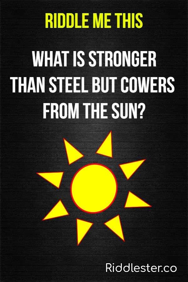 sun riddle