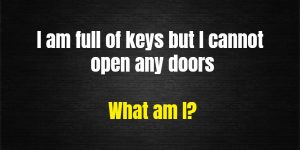 keys and doors riddle