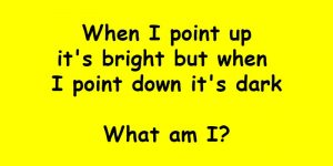 point up riddle