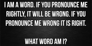 What word am i riddle