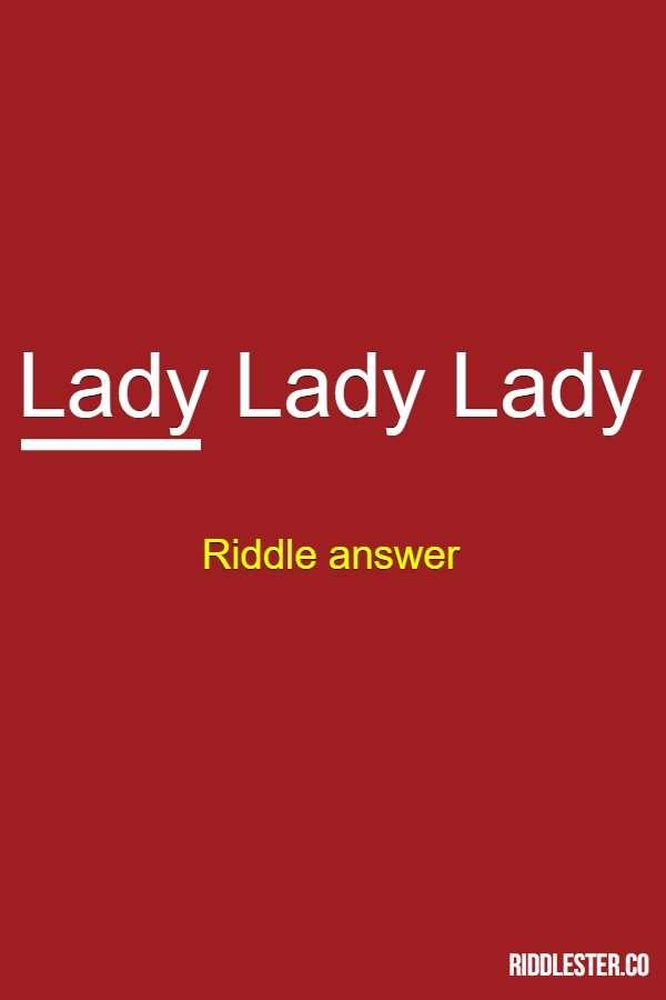 lady lady lady