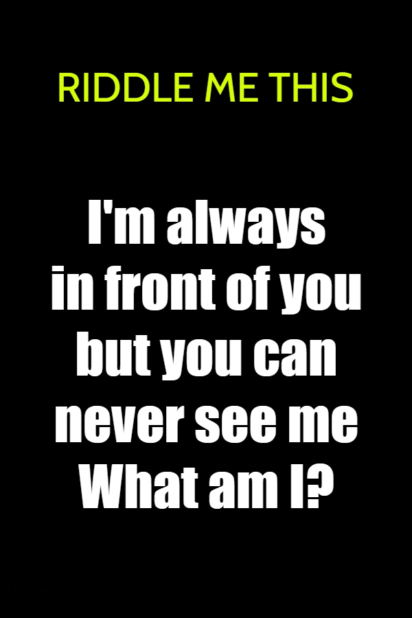 riddle this