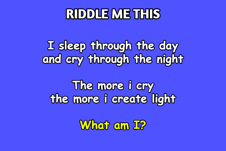 solve this riddle
