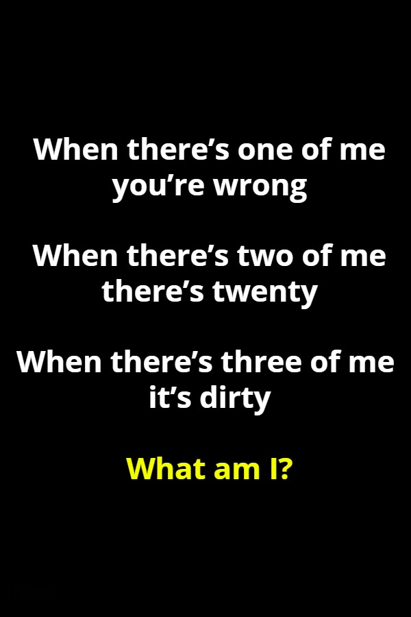 three riddle
