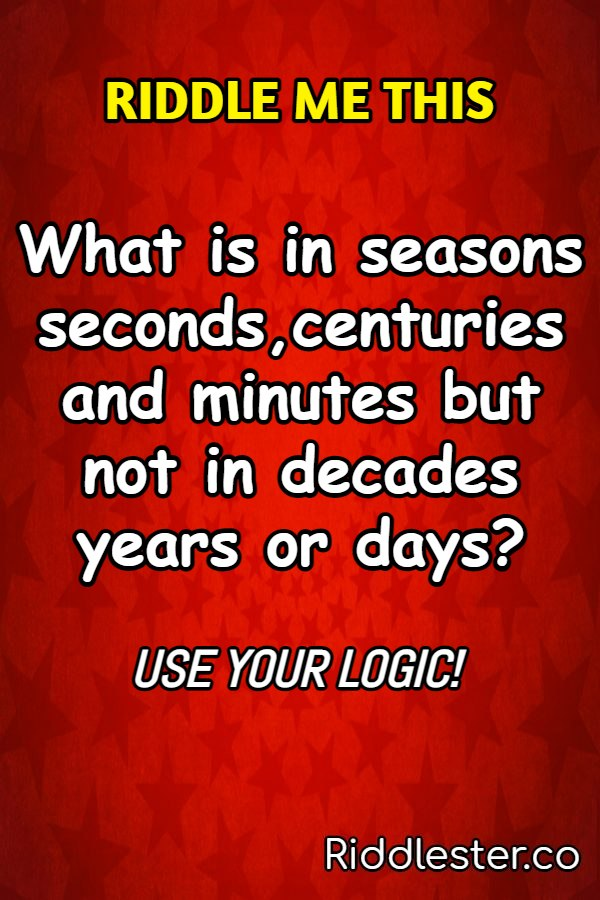 logic riddle me this